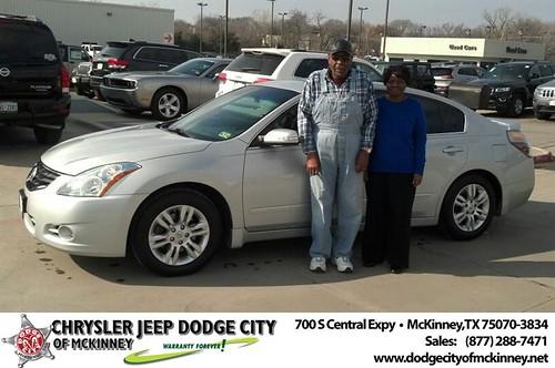 Dodge City McKinney Texas Customer Reviews and Testimonials-William & Opal Rhine by Dodge City McKinney Texas