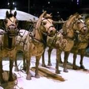 China - Xian - Terracotta Army - Horse Chariot - 6