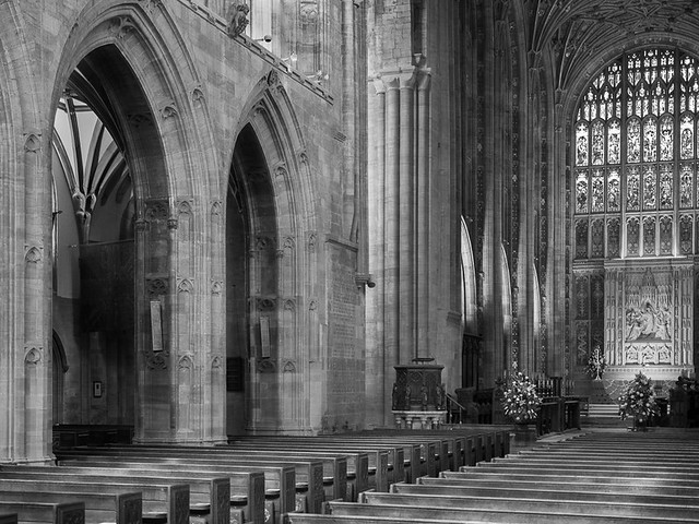 Sherborne Abbey Nave