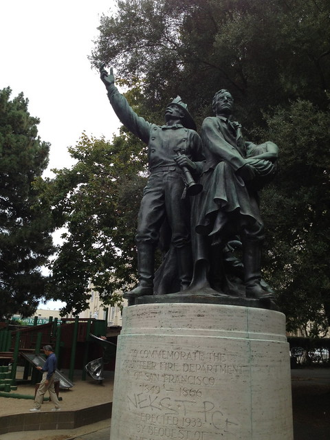 Washington Square Park Firefighters Memorial