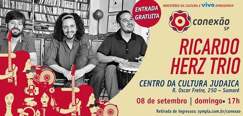 Flyer Ricardo Herz Trio CCJ