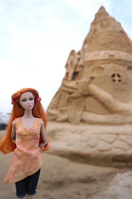 A Record Breaking Sand Castle by Ed Jarrett