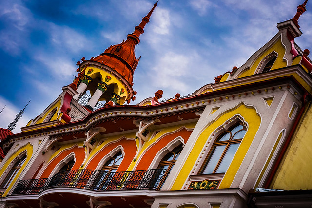 Oradea, Romania, Vienna Sucession Architecture, Sztarill Palace