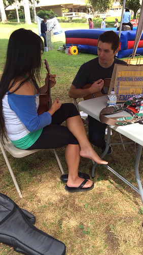 gem found a ukulele buddy