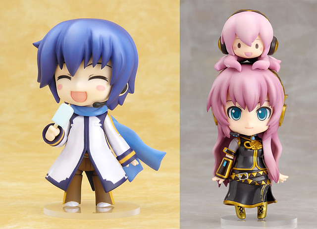 Nendoroid KAITO and Megurine Luka