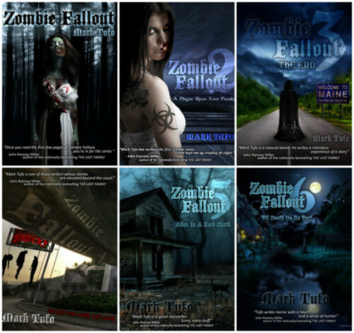 Zombie Fallout Series, book 1-6