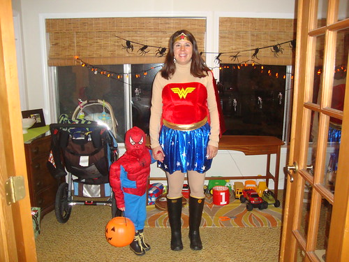 superheroes in rainboots