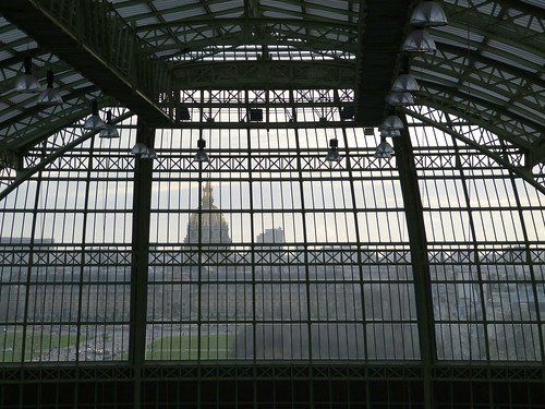 Paris Through the Grand Palais Glass