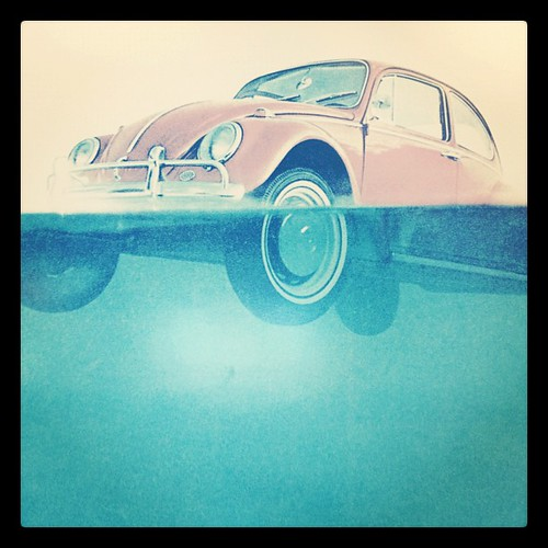 Old VW print by @MySoDotCom