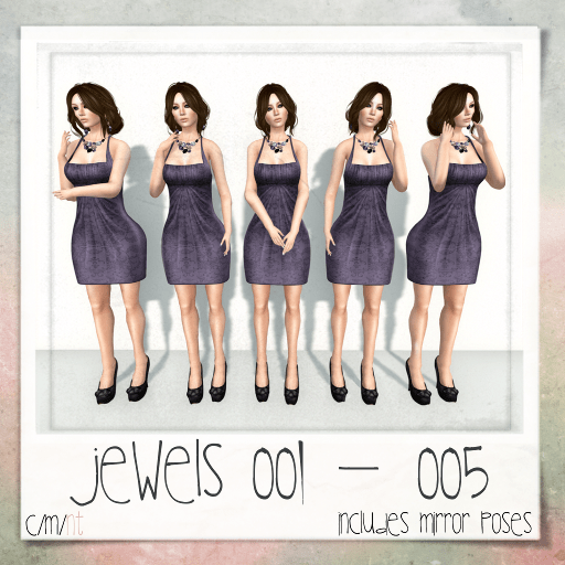 Flash Friendly Poses - Jewels 001-005