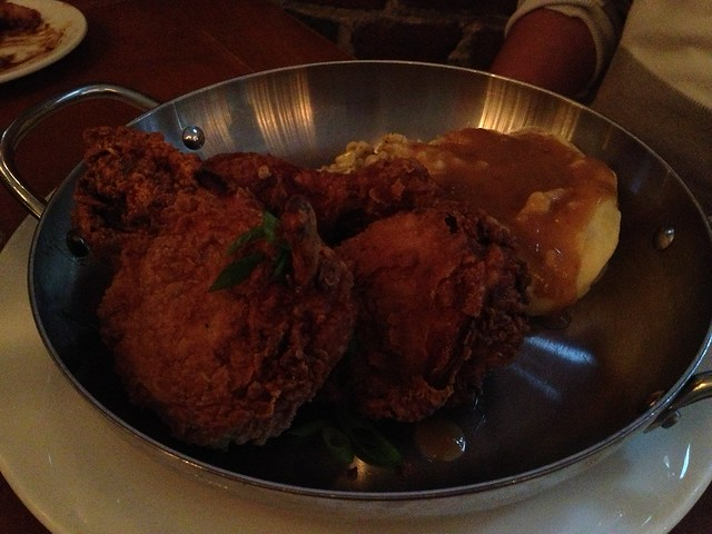 Mary's buttermilk fried chicken - Town Hall