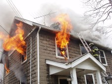 Center Street house fire