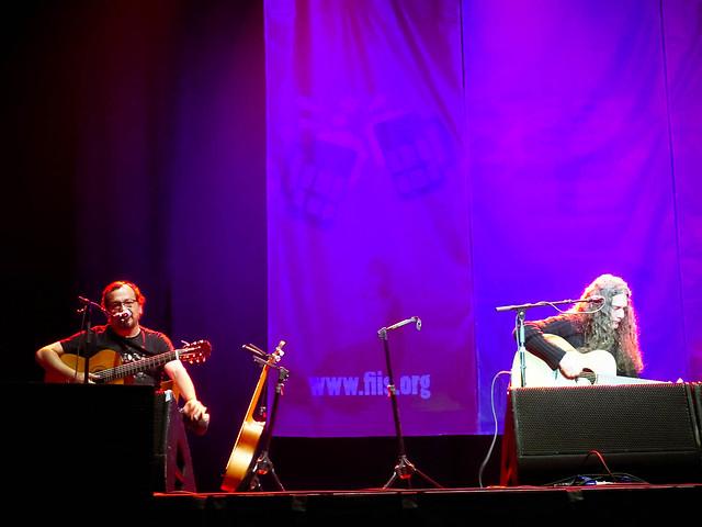 Registro ROCK, ALMA Y CABEZA FIIS2013 en el Movistar Arena