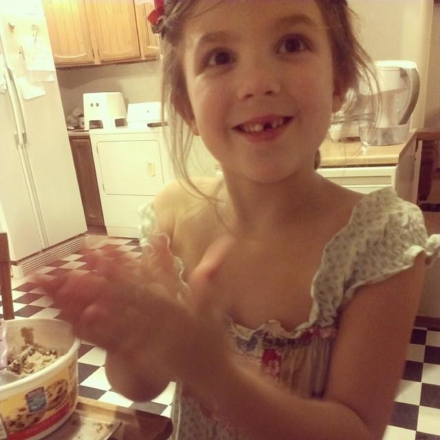 Making Christmas cookies :-)