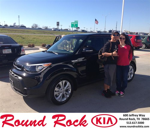 Congratulations to Jada Caracol on your #Kia #Soul purchase from Jorge Benavides at Round Rock Kia! #NewCar by RoundRockKia