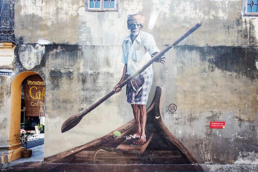 The Boat Man, Artist: Julia Volchkova.
