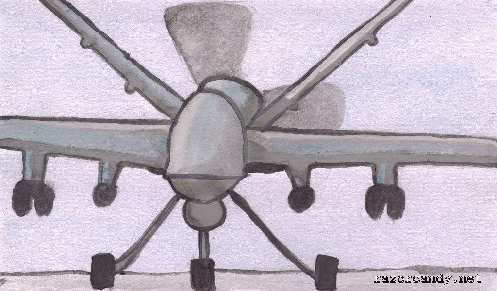 06-09-2013 Bitesize News - Drone Strike