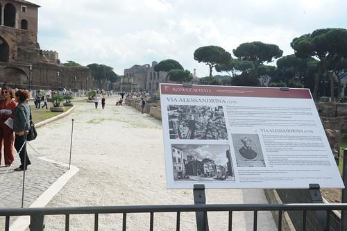 """ROMA ARCHEOLOGIA: """"STORIA DI VIA ALESSANDRINA E DEGLI SCAVI DEI FORI IMPERIALI,"""" Comune di Roma & La Repubblica & 'MARINO SINDACO - ROMA`VITA, Rome (10/2013). (31-28/10/2013). by Martin G. Conde"""