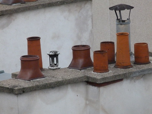 Chimney Pots of Paris