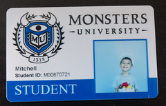 Mitchell's Monster University Student ID