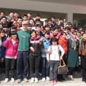 Peace Corps volunteer Sky Lantz-Wagner, in Tongren, Guizhou province