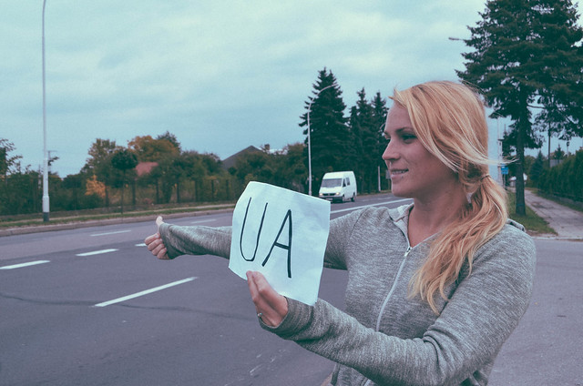 Hitchhiking into Ukraine-7