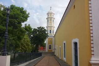 Catedral na Praça Bolivar em Ciudad Bolivar