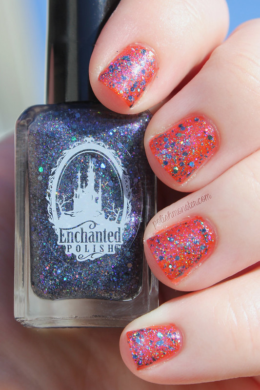 Enchanted Polish To Die For over China Glaze Riveting