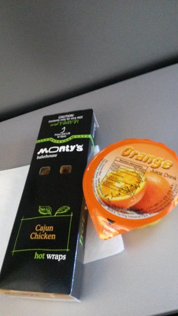 CX inflight meal