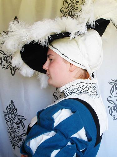 The huge 16th century German hat - 23