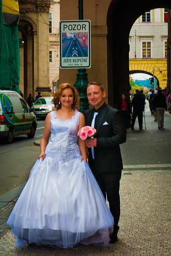 Wedding day in Prague
