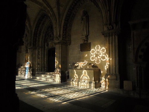 Bathed in light, Santa Maria Burgos