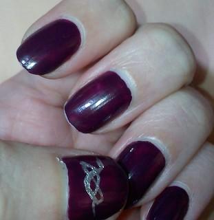 Revlon Colorstay nail polish in Bold Sangria