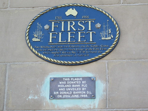 First Fleet, Whitby
