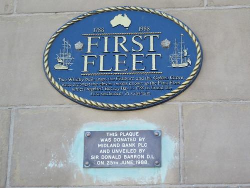 First Fleet, Whitby