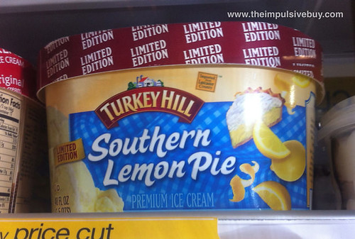 Limited Edition Turkey Hill Southern Lemon Pie Ice Cream