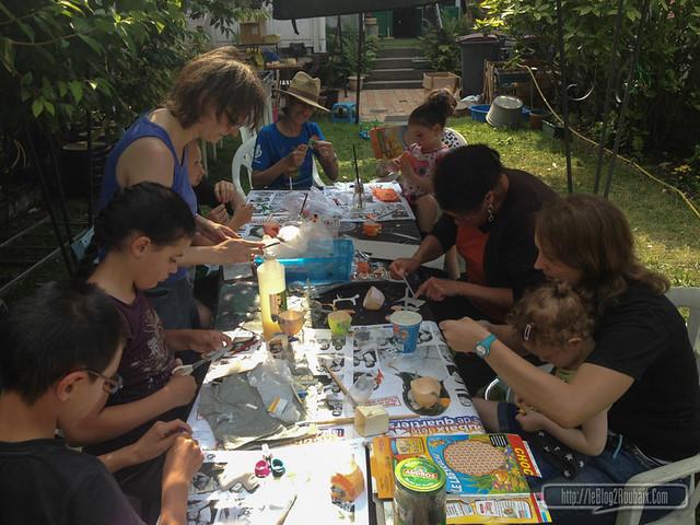 Atelier créatif et écolo à Roubaix