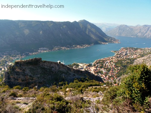 The Bay of Kotor and St John's Fortress