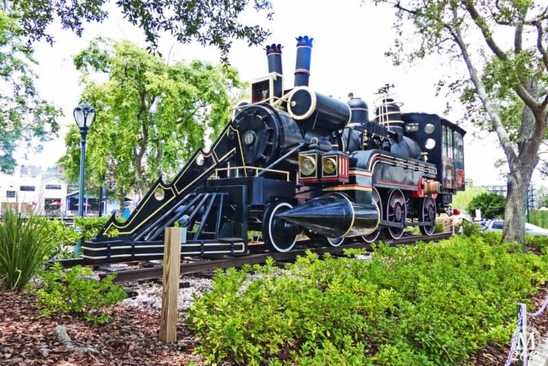 Back to the Future III Steam Train