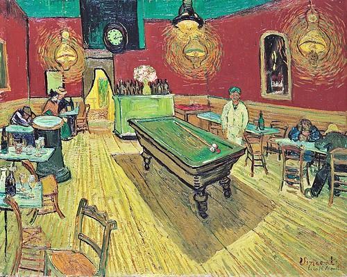 Van Gogh, Café Noturno, 1888