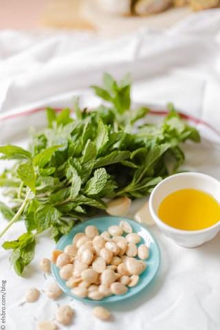 Marcona Almond and Mint Pesto