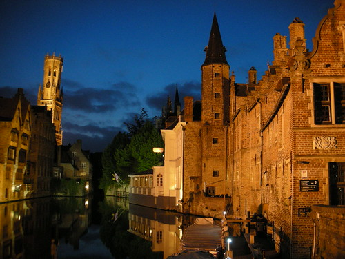 In Bruges at Night