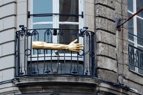 Lille, een balkon