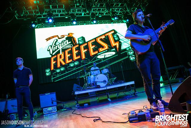 Little Green Cars at Virgin Freefest 2013.