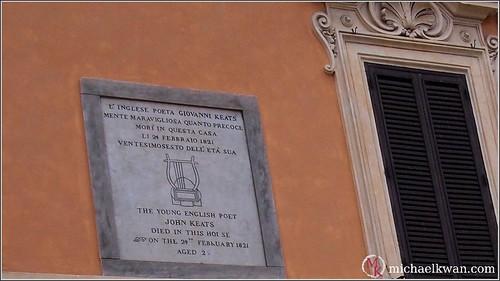 John Keats in Rome