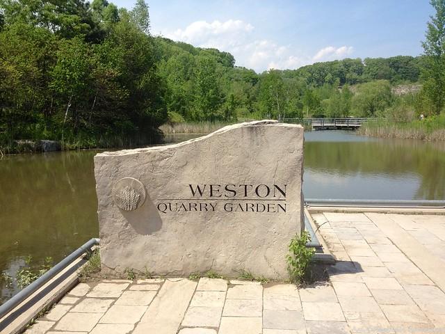 Weston Quarry Garden