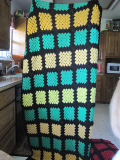 Blocks by Mary, assembled by Linda