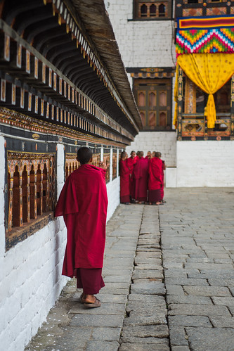A gathering of monks