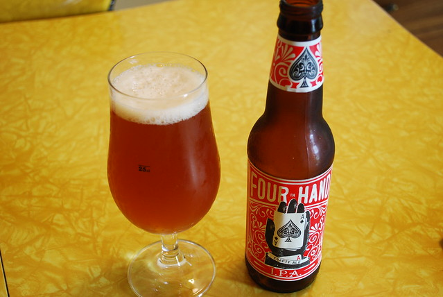 Four In Hand Crafty Ale IPA