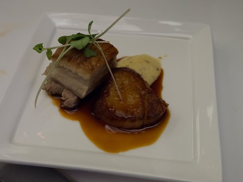 Pork Belly & Scallop - Toronto Taste 2013